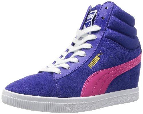 Puma - Zapatillas de ante para mujer azul azul