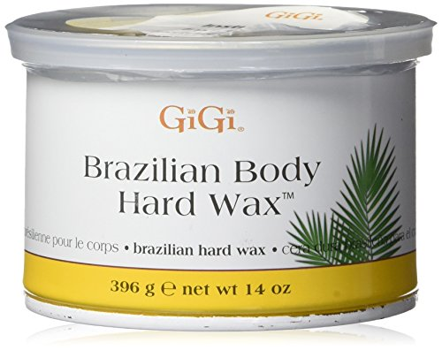 Gigi Hard Body Wax for Brazilian Sensitive Areas, 14 oz