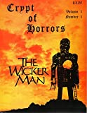 Crypt of Horrors Volume 1, Number 1 -The Wicker Man