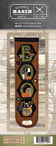 Hexi Door Greeter October Boo - by Buttermilk Basin - Wool Applique Pattern - BMB 1432 9
