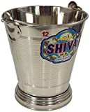 Guru-Shop Stainless Steel, Planter, Wastebasket Bucket 6 L, Stainlesssteel, 26x23x23 cm, Kitchen & Table