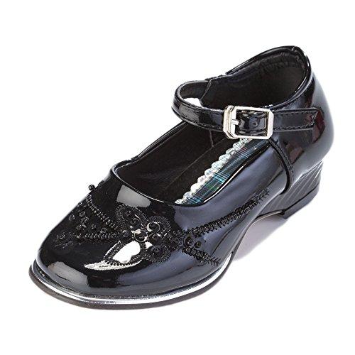 Schwarz 25;Farbe Grössen festlicher Mädchenschuh Schuhe Lea w7qTxaCz