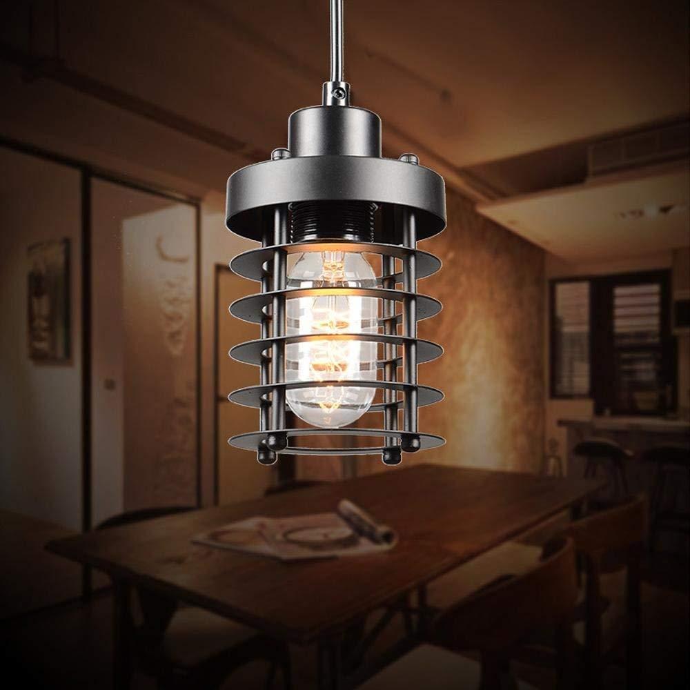de retro ☞ colgante Hierro Lámpara Iluminación interior YHIW29DE