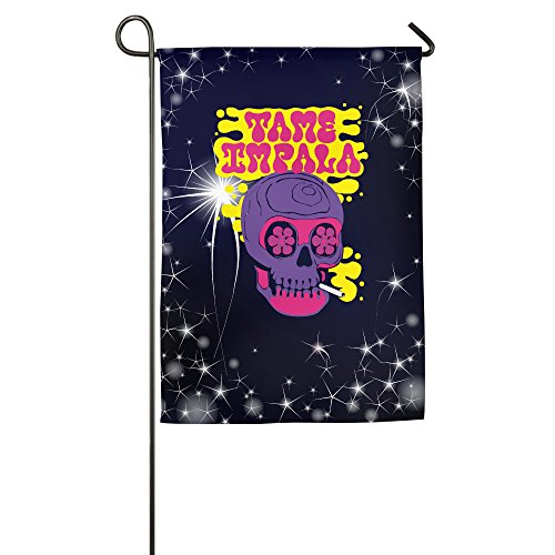 ^GinaR^ Tame Band Skull Popular Garden Flag