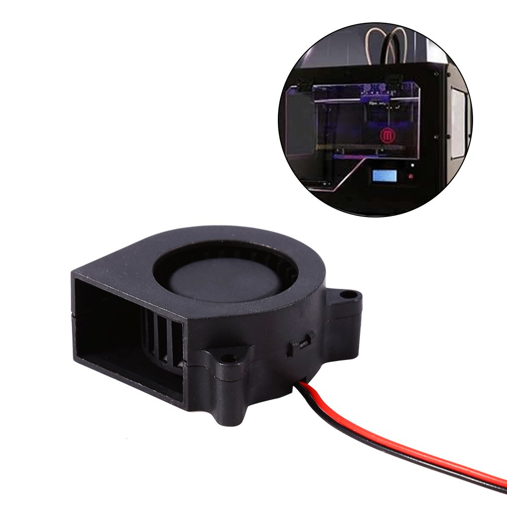 1pc 12V DC Cooling Air Fan for 3D Print Hotend Extruder Air Blower, Printer Accessories 40× 40× 20mm Walfront