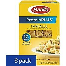 Barilla ProteinPLUS Multigrain Farfalle Pasta, Bowtie Pasta, 14.5 Ounce (Pack of 8)
