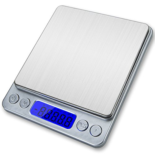Superior Digital Platform Scale Back Lit