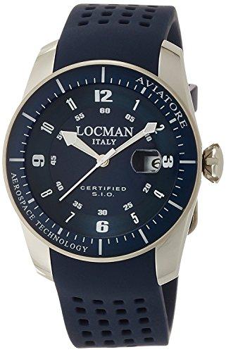 LOCMAN watch AVIATORE pilot watch 0453V02-00BLSIB Men's