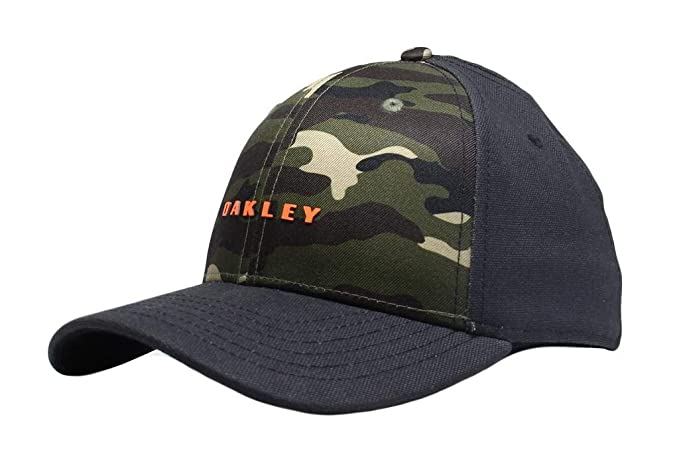 classic style best price new arrival Oakley 6 Panel Camou Cap - Camo -S/M: Amazon.co.uk: Clothing