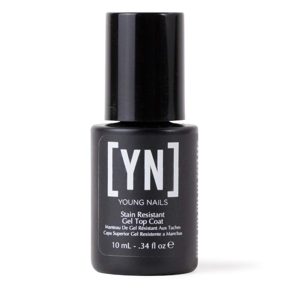 Amazon.com: Young Nails Stain Resistant Gel Top Coat, 0.34 fl. oz ...