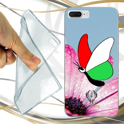 CUSTODIA COVER CASE CASEONE BUTTERFLY ITALY PER IPHONE 7 PLUS