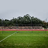 Champion Sports Lacrosse Backstop Net: Ball Barrier for Professional, College and Grade School Training, Practice and Drills - Field Organizer for Stray Balls