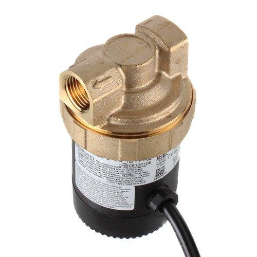 Lead Free Brass Ecocirc Circulator w/ Adjustable Thermostat & Plug (1/2'' NPT)