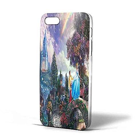 cinderella cartoon, Iphone Case (iPhone 6s white) (Cinderella Phone Cases Galaxy S4)