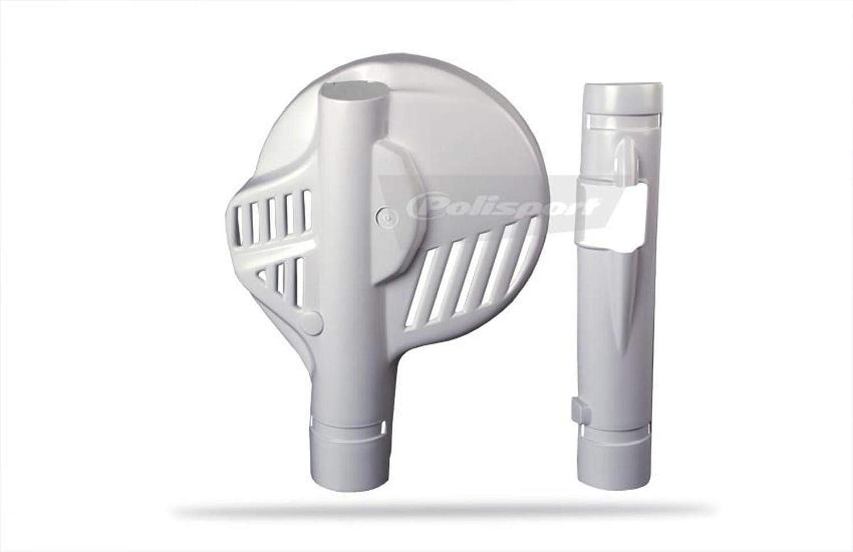 White Polisport 8376000001 Fork Disc Protector XL