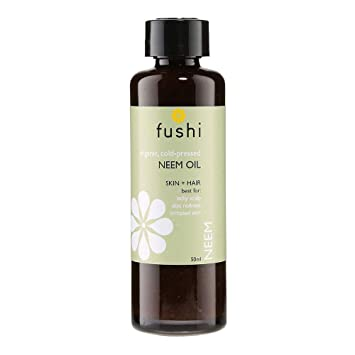 Fushi Neem Organic Oil 50ml Extra Virgin, Biodynamic Cold Pressed