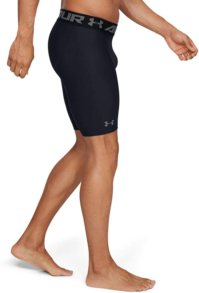 Under Armour Men's HeatGear Armour 2.0 9-inch Compression Shorts: Clothing