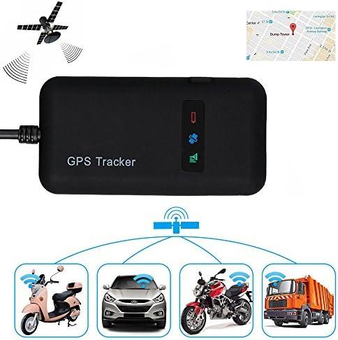 Localizador de Vehículo GPS, en tiempo real, GPS/GSM/GPRS/SMS, dispositivo de seguimiento para moto, coche, bicicleta, Antirobo