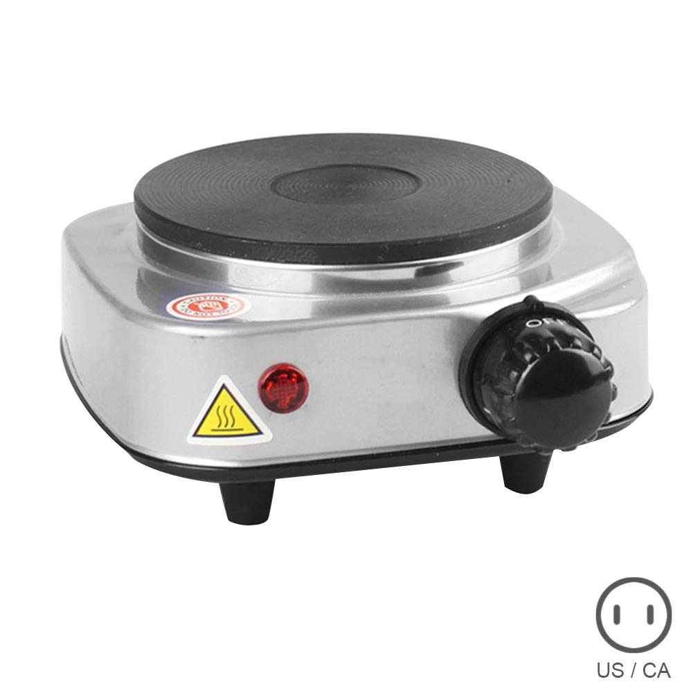 Finetoknow Electric Heater Stove Hot Cooker Plate, Mini Electric Stove Hot Cooking Heater, Mini Hot Plate,Multipurpose Kitchen Lab Mini Electric Stove Hot Cooking Heater Plate Accessories