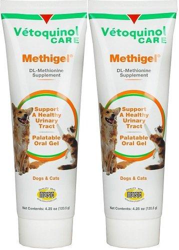 Methigel Urinary Acidifier 4.25 Oz Tube 2 pack