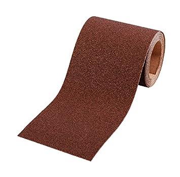 kwb Schleifpapier-Rolle – für Metall und Holz, K-40, 93 mm x 5 m, Korund 8177-04