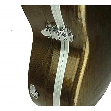 Estuche ABS para Guitarra Clásica, Cibeles (Dorado)