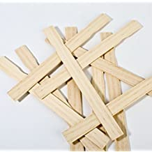 """Woodman Crafts Paint Sticks - 12"""" Inch Premium Grade Wood Stirrers MADE IN USA - Use For Wood Crafts - Paddle To Mix Epoxy Or Paint - Garden - Library (Pack of 25)"""