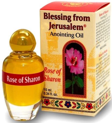 ローズRosa of Sharon AnointingオイルBlessing of Jerusalem Stunning Smell 10 ml byベツレヘムギフトTM B01M4JU3YW
