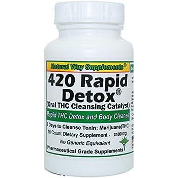 420 Rapid THC Detox