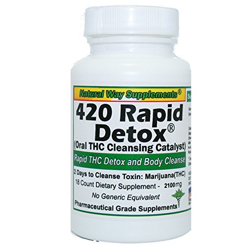 Natural Way Supplements 420 Rapid THC Detox (Best Natural Way To Detox From Weed)