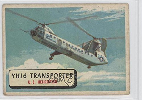 (YHI6 Transporter Ungraded COMC Poor to Fair (Trading Card) 1957 A&BC Planes of the World - [Base] - Red Back #44)