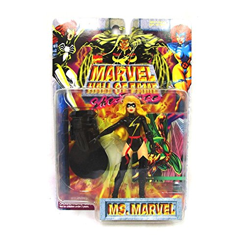 Toy Biz Marvel Hall of Fame Ms. Marvel Black Warbird Suit - Marvel Fame Of Hall