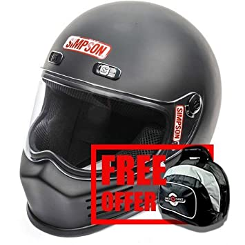 Simpson Street Bandit Motorcycle Helmet M2015 /& DOT All Sizes /& Colors