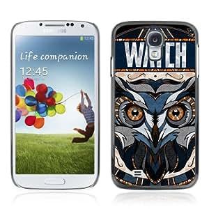 YOYOSHOP [Awesome OWL Pattern Tattoo] Samsung Galaxy S4 Case