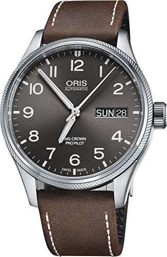 Oris Aviation Analog Grey Dial Men's Watch – 01 752 7698 4063-07 5 22 05FC