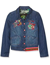 Desigual Girls' Denim Jacket Puqui, Sizes 5-14