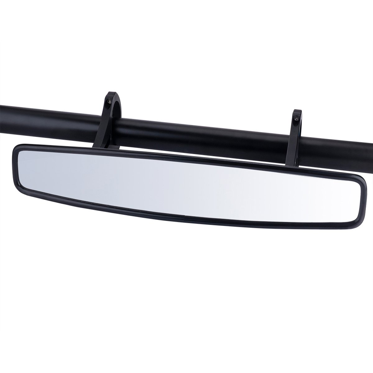 15'' Wide Angle UTV Rear View Race Mirror with Anti-Scratch Shatterproof Glass, Moveland Convex Mirror with 1.75-inch Clamp for Polaris RZR 800 1000 S 900 XP 1000 and More by moveland (Image #1)