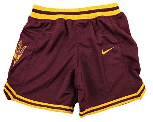 Nike NCAA Little Boys Toddlers Arizona State Sun Devils Basketball Shorts, Maroon