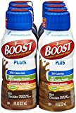 Boost Plus Nutritional Energy Drink, Chocolate, 8 oz, 6 pk