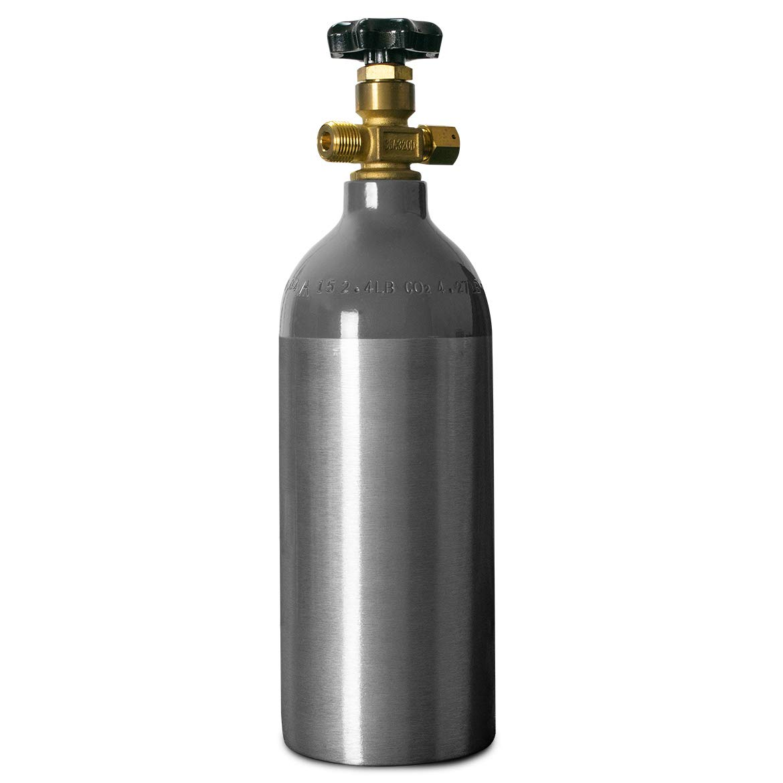 2.5 lb co2 tank empty by Home-Brew.com