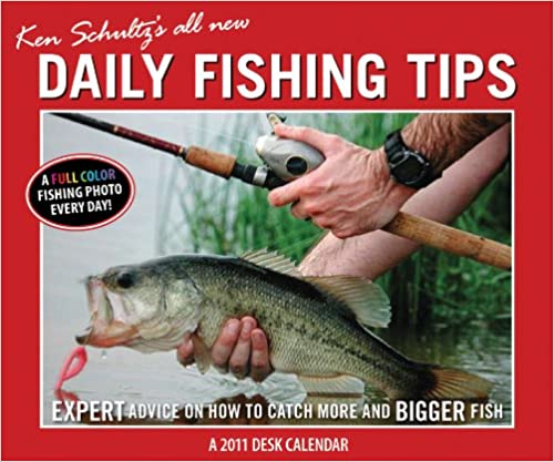2011 Ken Schultz's Daily Fishing Tips - Box Calendar