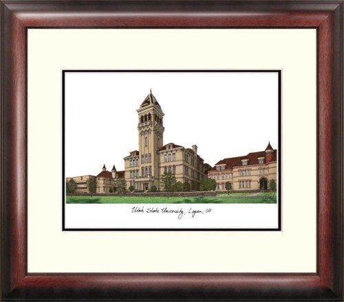 (Utah State University Alumnus Framed Lithograph)