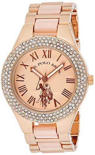 U.S. Polo Assn. Women's Quartz Watch with Alloy Strap, Silver, 19.8 (Model: USC40219)