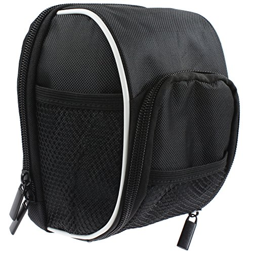 Bicycle front handlebar storage bag Cycling presented rain cover Outdoor (Black) RUKEY
