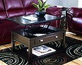 Ashley Furniture Signature Design - Hatsuko Coffee Table - Lift Top - Dark Brown