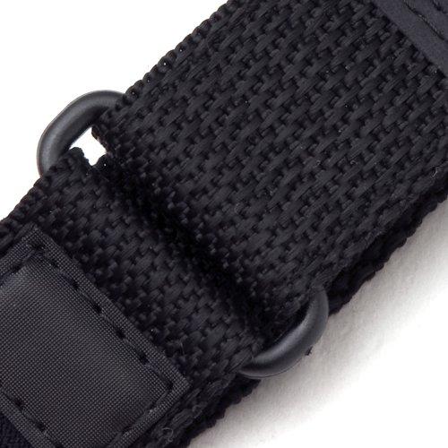 Voguestrap TX877761 Allstrap 16-20mm Black Adjustable-Length Fits Fast-Wrap-Expedition Watchband