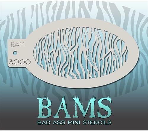 Bad Ass Stencils petit z/èbre mini-pochoir