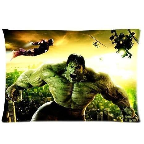 Amazon.com: FFfghdde The Incredible Hulk Funda de almohada ...
