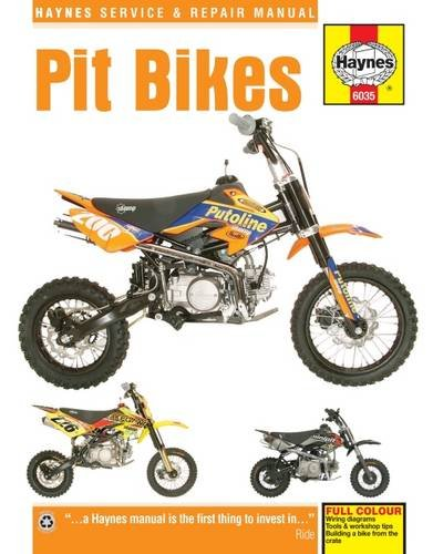 - Pit Bikes (Haynes Service & Repair Manual)
