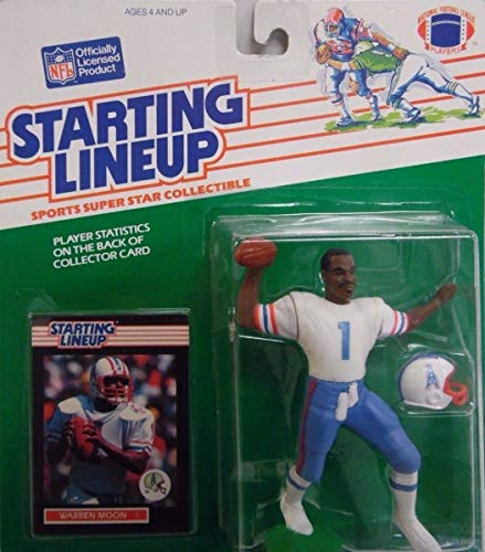 Warren Moon of Houston Oilers Figure - 1989 Starting Lineup NFL Series ()